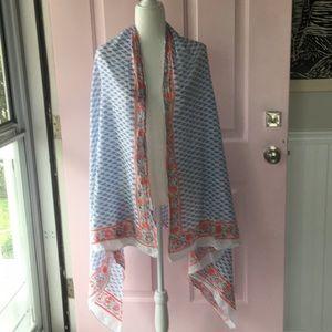 Anthropologie 100 percent cotton scarf